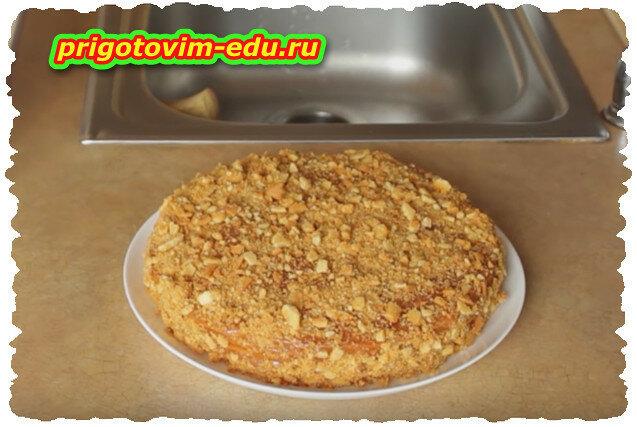 Как приготовить постный медовый торт