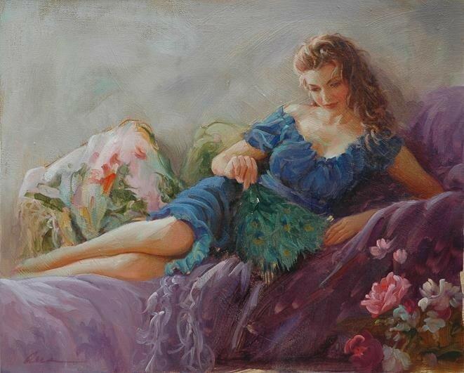 Художник Марк Ариан и его чувственные образы женщин