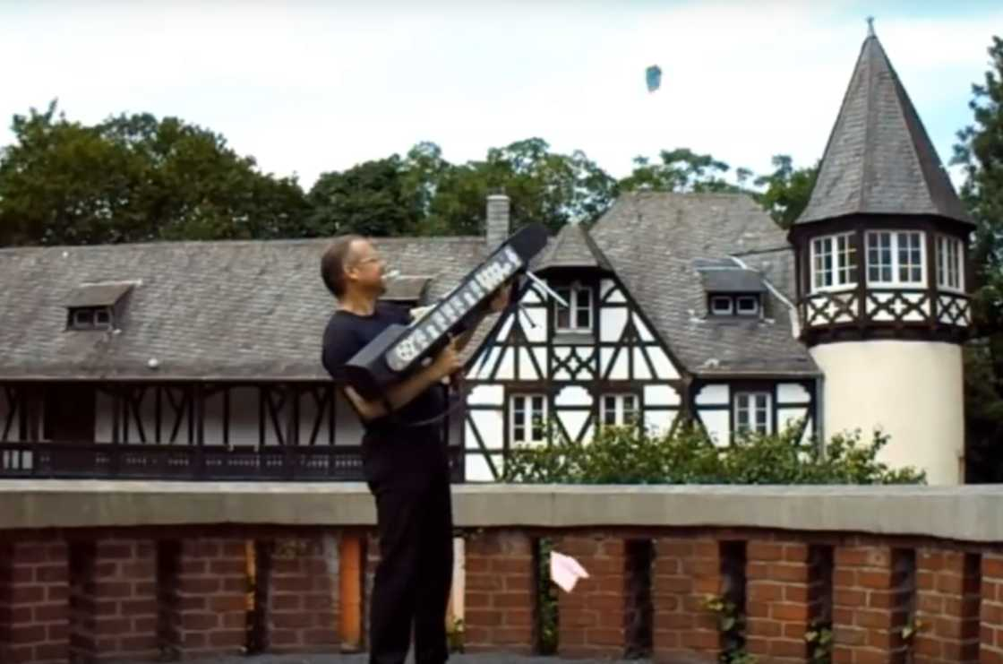 This 3D-printed rifle fires 120 paper airplanes per minute