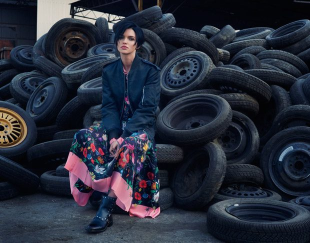 Wild Flower: Ruby Rose Stars in The Edit Magazine Cover Story