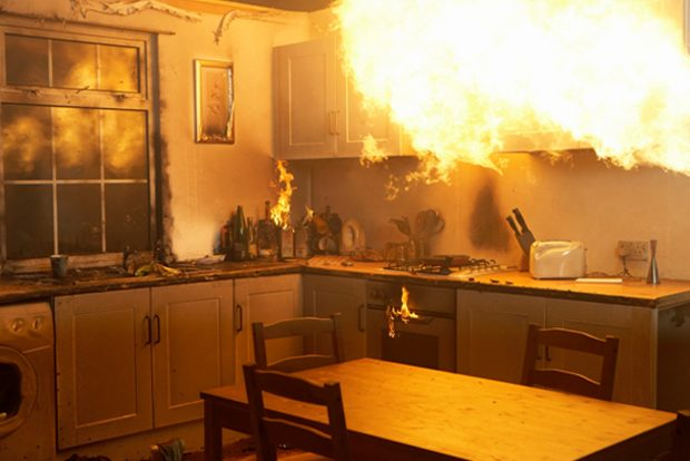 Hot Spots Fabrics, including curtains, rope or even Christmas trees, can be treated with a fire-reta