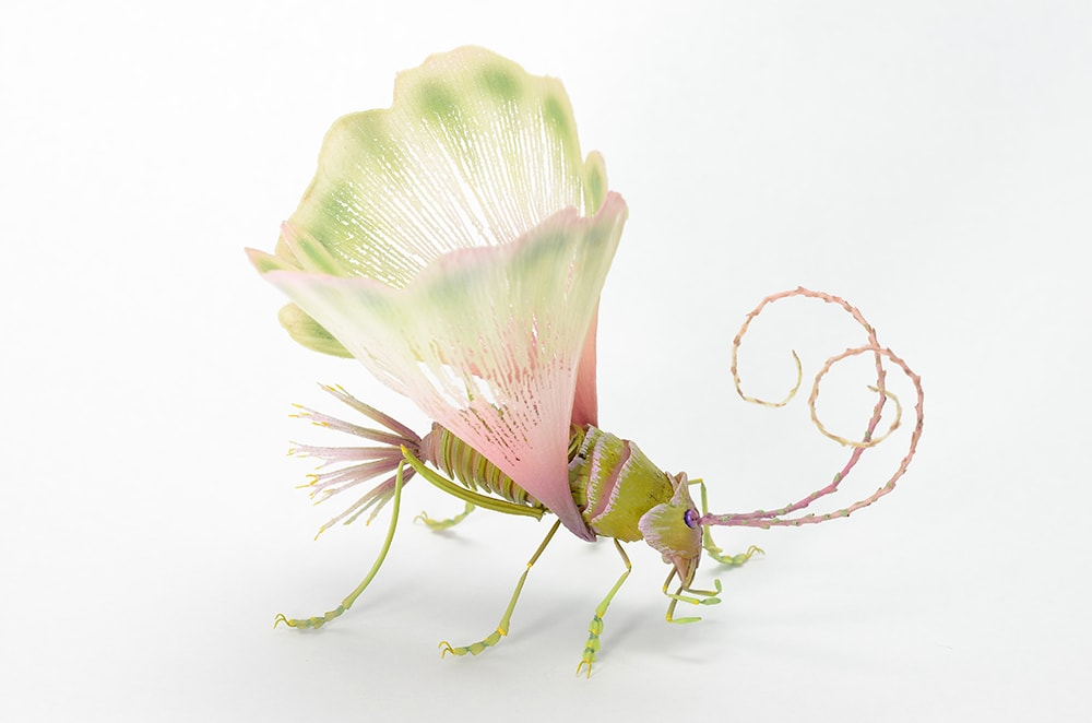 Imaginative Insects Formed From Resin and Brass by Hiroshi Shinno