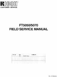 service - Инструкции (Service Manual, UM, PC) фирмы Ricoh - Страница 4 0_1b2962_c3a484b0_orig