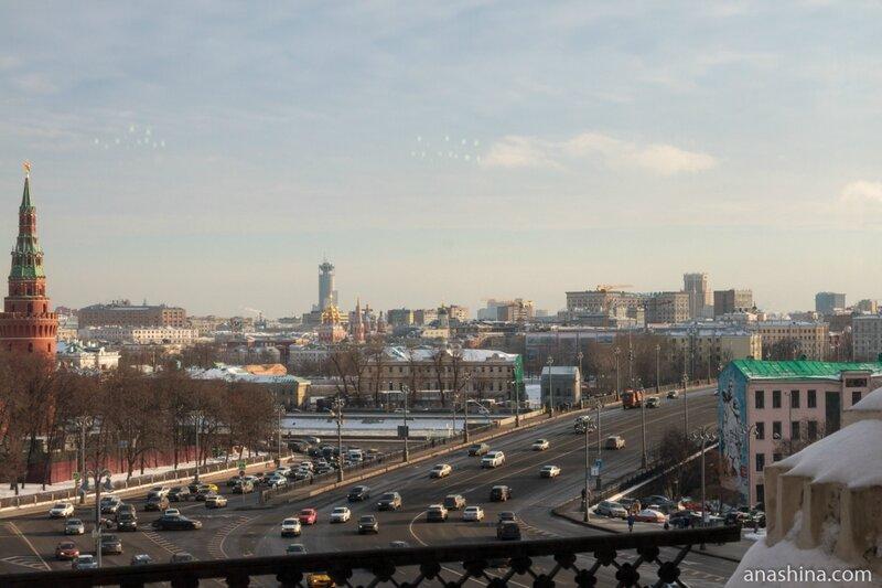 Вид на Большой каменный мост