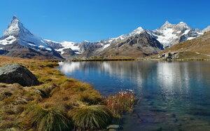 я люблю отражение гор