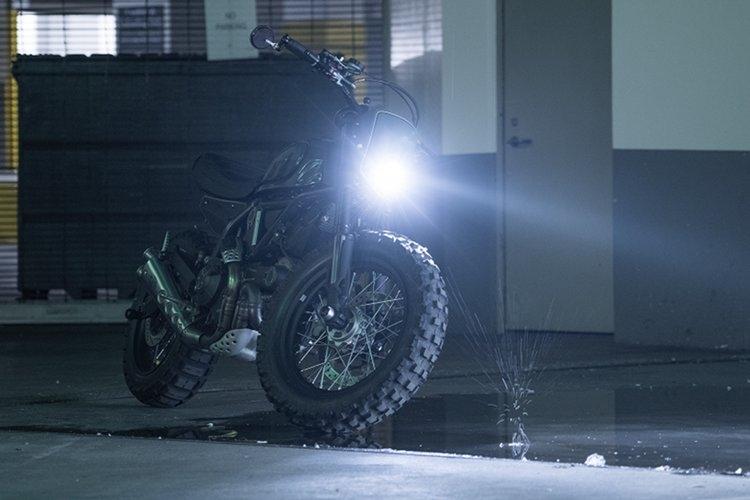 Котерье Вест: Кастом Ducati Scrambler