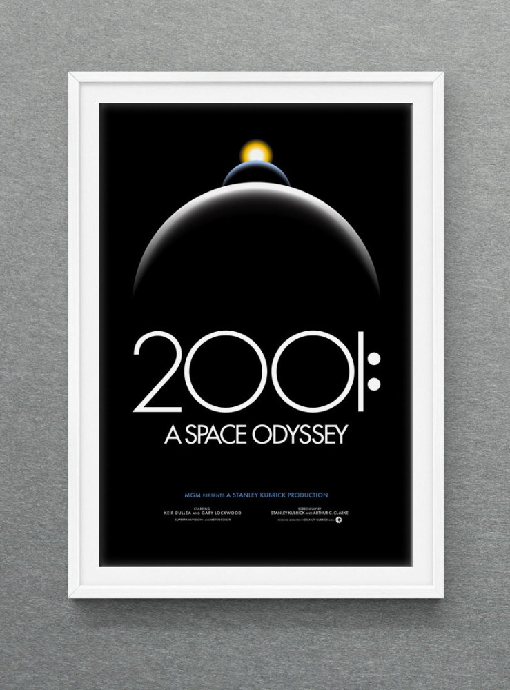 2001: A Poster Odyssey by Christopher Cox