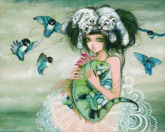 Stunning Art by Camilla d'Errico
