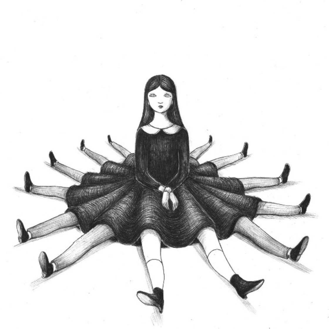 Sweet Darkness - Les illustrations de Virginia Mori