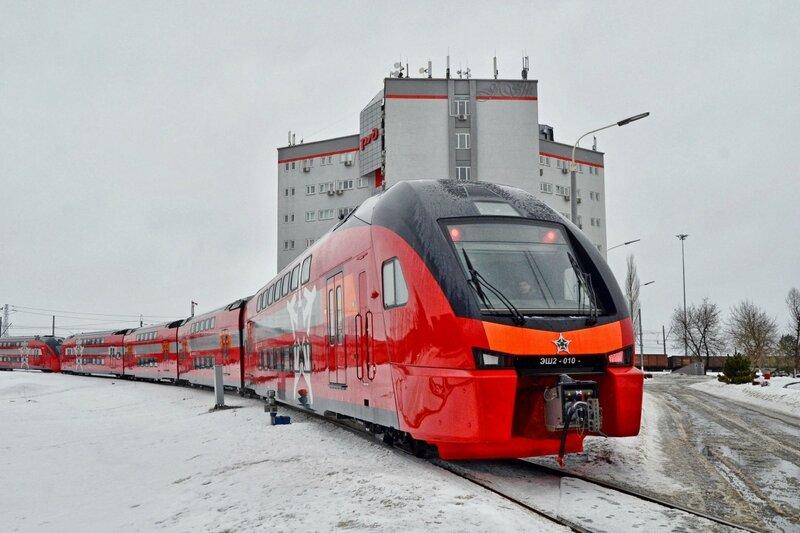 ЭШ2-010 в Щербинке