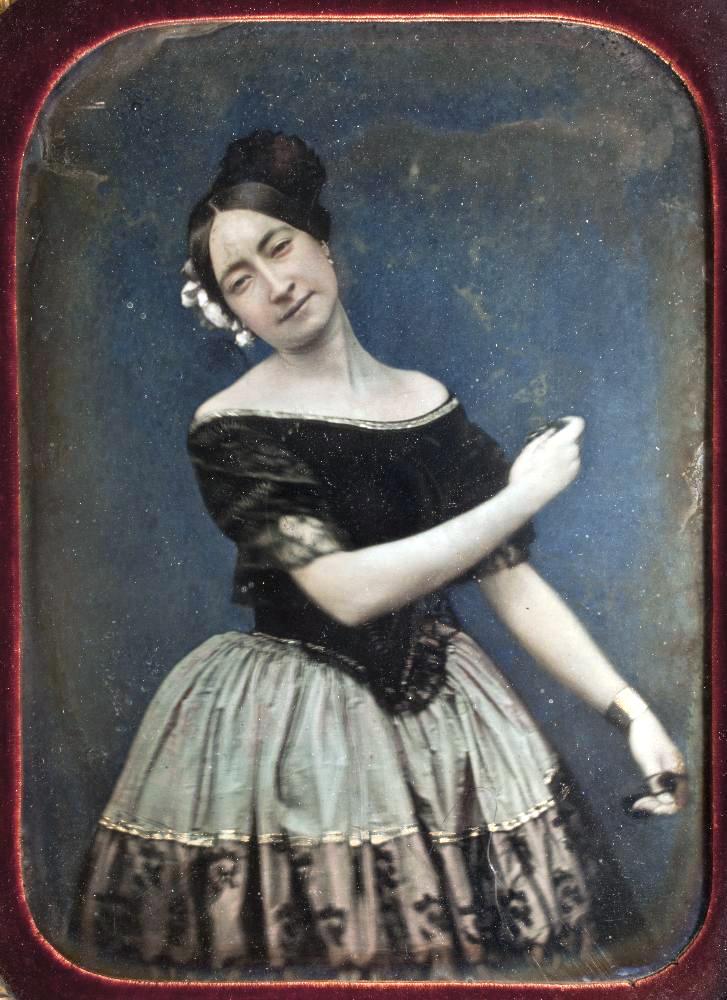 1850. Танцовщица Мари-Антуанетта Гай-Стефан