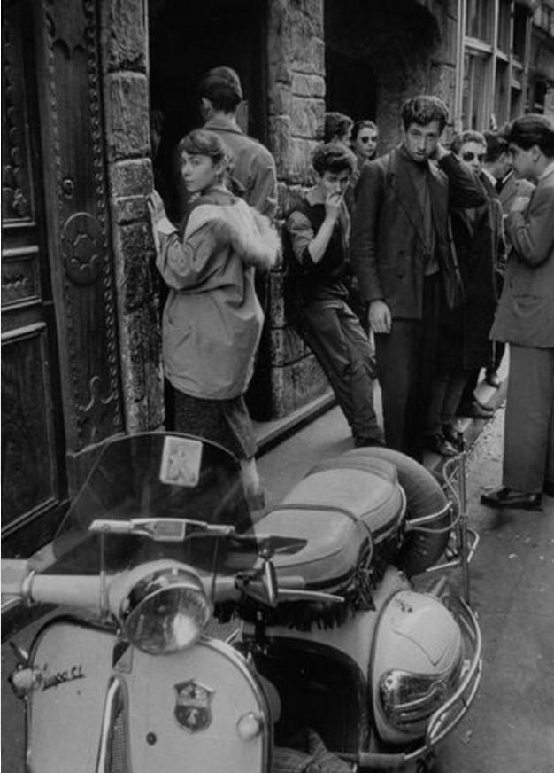 1957. Рю де ла Юшетт. Париж