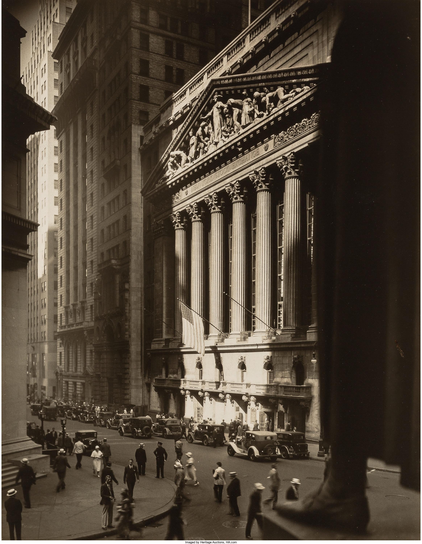 1934. Нью-Йоркская фондовая биржа II,