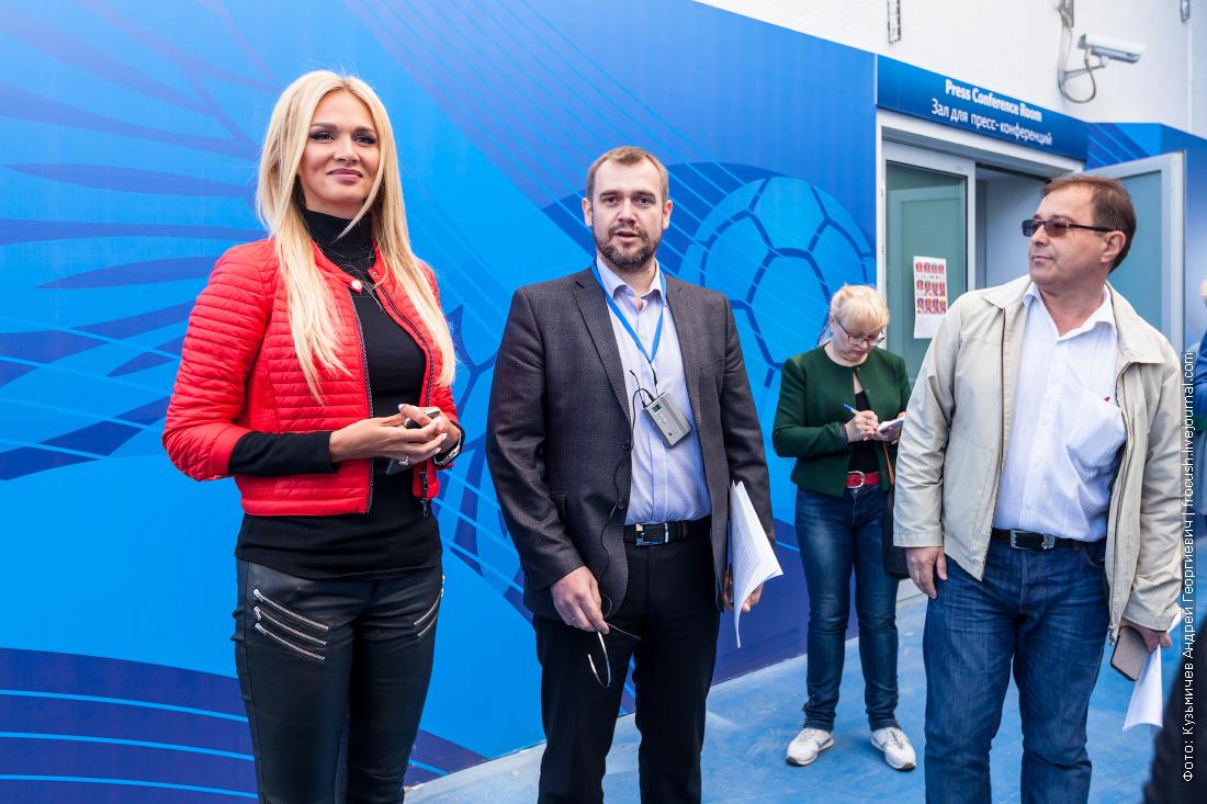 Виктория Петровна Лопырева посол России чемпионата мира по футболу 2018
