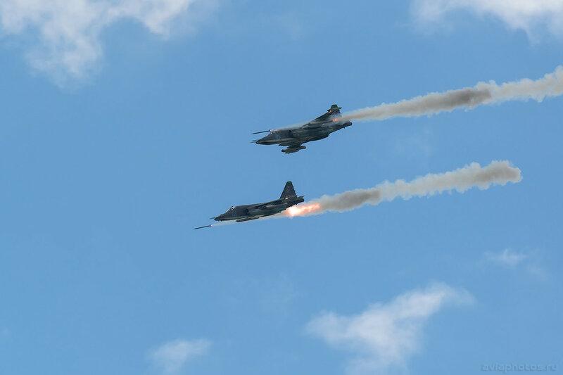 Сухой Су-25СМ (RF-92258 / 12 синий) ВКС России 619_D801533