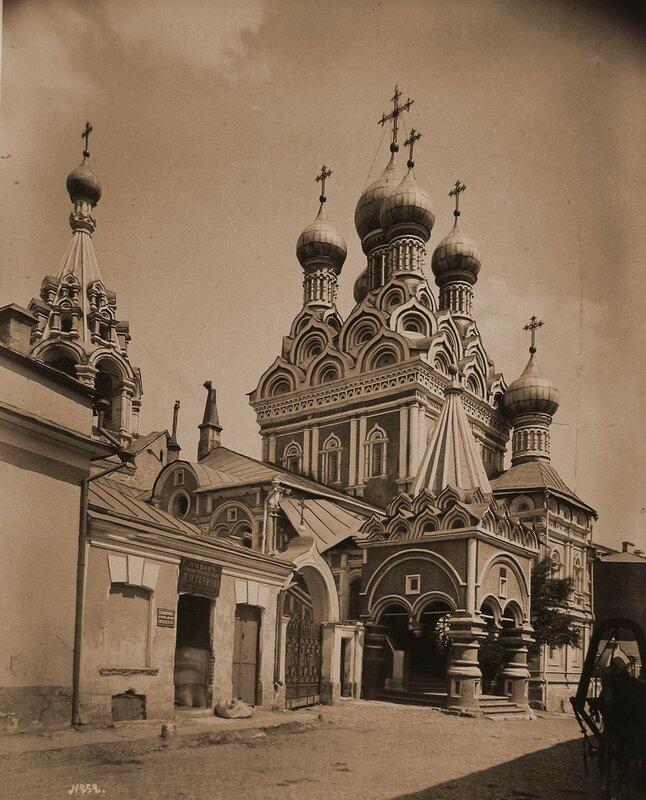1858-1880е Церковь Троицы в Никитниках Барщевский.jpg