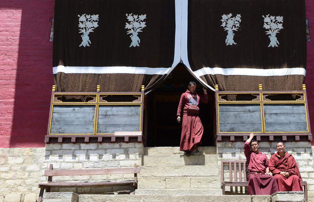 Фото повседневной жизни в Непале