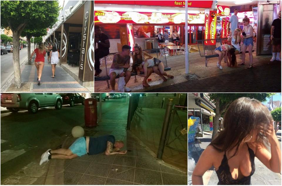 В Facebook глумятся над поведением англичан на курортах