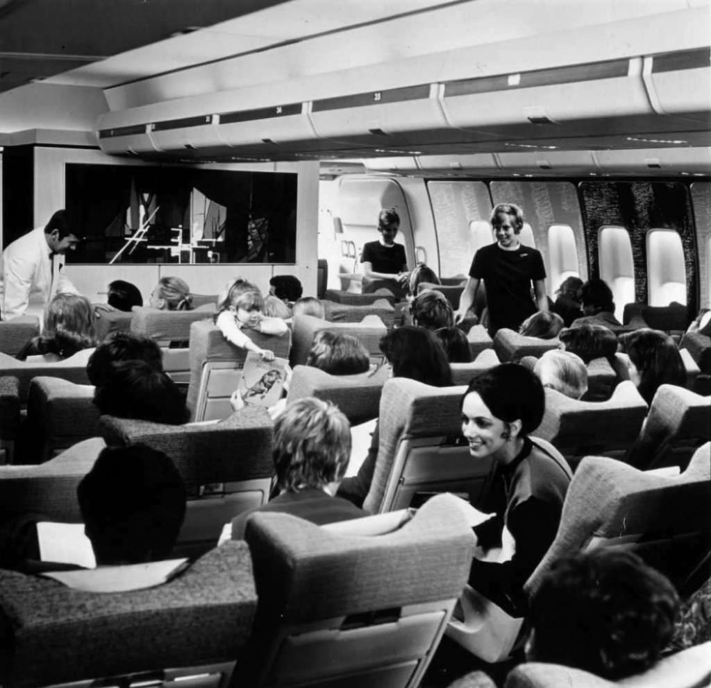 На пассажирском лайнере