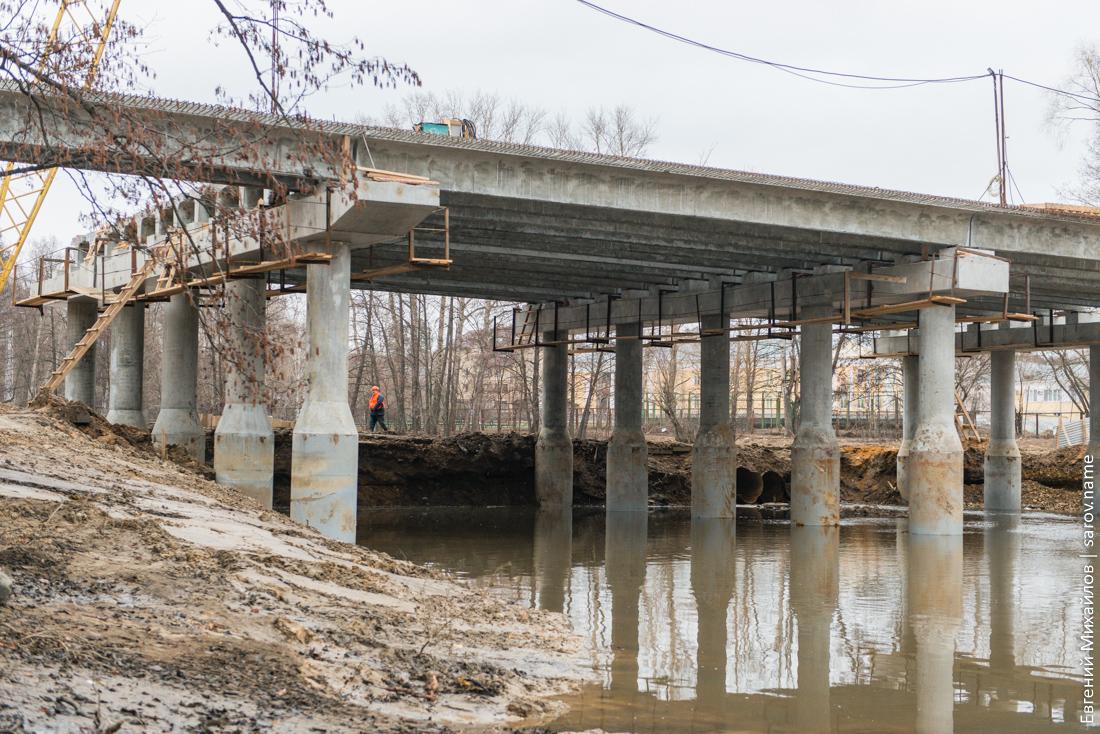 строийка моста
