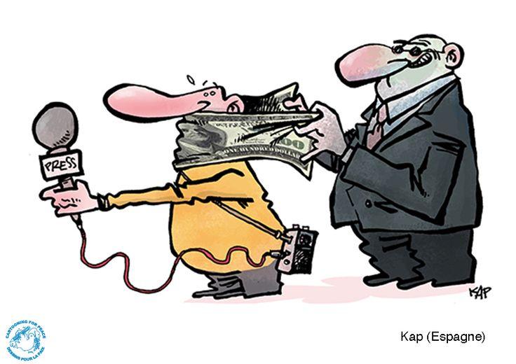 Открытки. День солидарности журналистов. Журналистам рот не закрыть