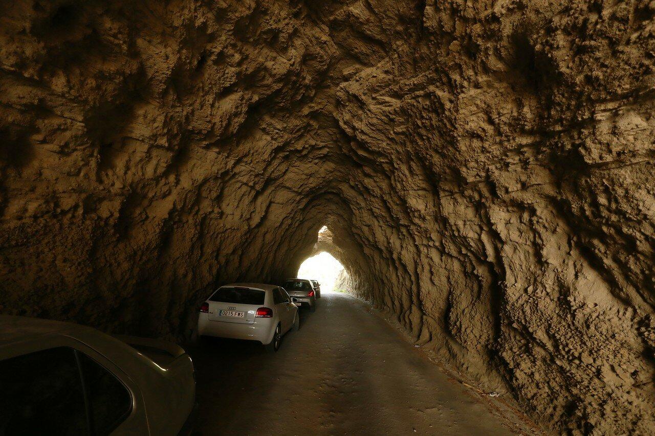 El Chorro, a Large Tunnel (Tunnel Grande)