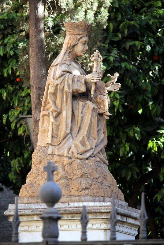 Малага. Дева Мария-де-ла-Виктория