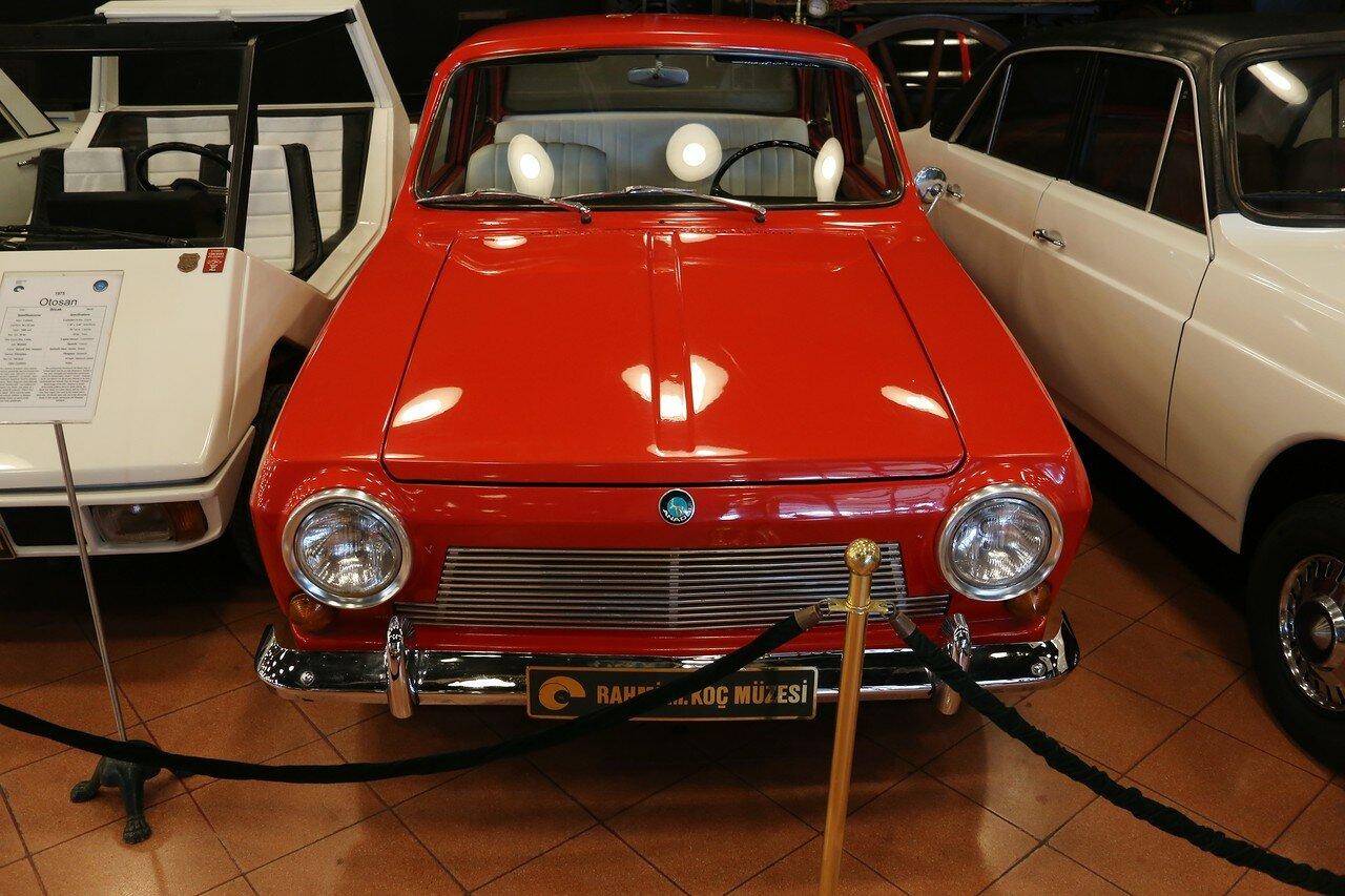 Стамбул. Музей Рахими Коча. Anadol Sedan 2-door 1967