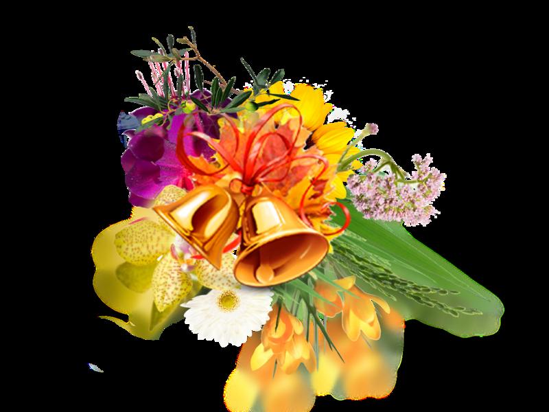 цветочек открытка учителю