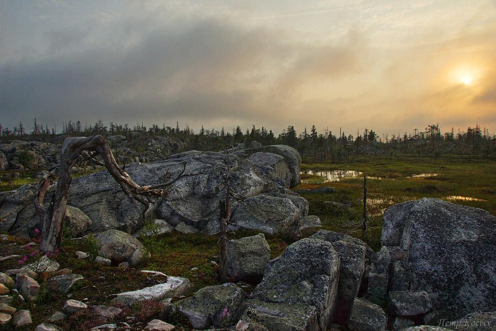 11. На ее вершине, на площади примерно в шесть квадратных километров находится около 1600 камней (се