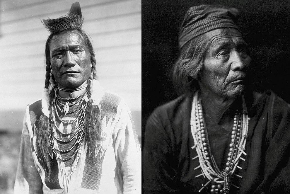 Гости едут на индейскую свадьбу, Калифорния, 1914 год. (Фото Library of Congress | Edward S. Cu