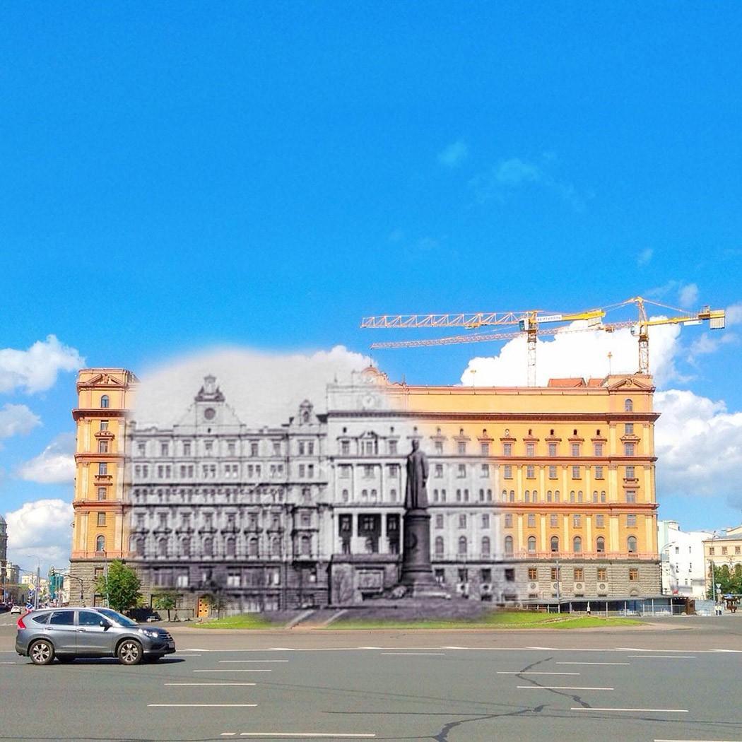 2. Здание КГБ — пожалуй, самое страшное здание в Москве (там было расстреляно много людей, и там уже