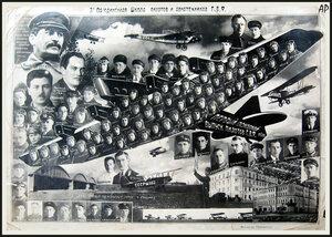 Третья объединённая школа пилотов Г.В.Ф. 1933 г.