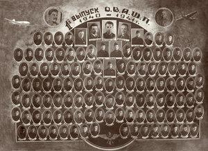 Выпуск ОВАШ 1941 года
