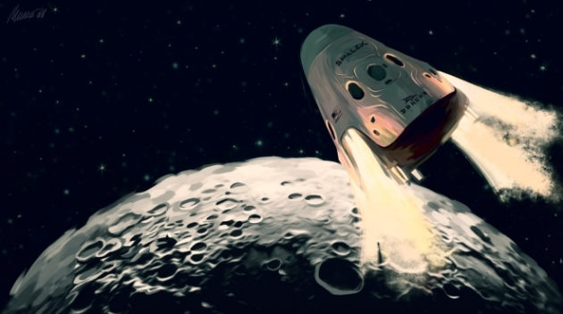 Компания Boeing представила концептуальный автомобиль миссий наЛуну иМарс