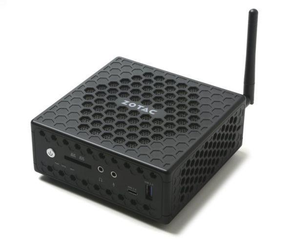 ZOTAC представила безвентиляторный неттоп ZBOX CI327 nano