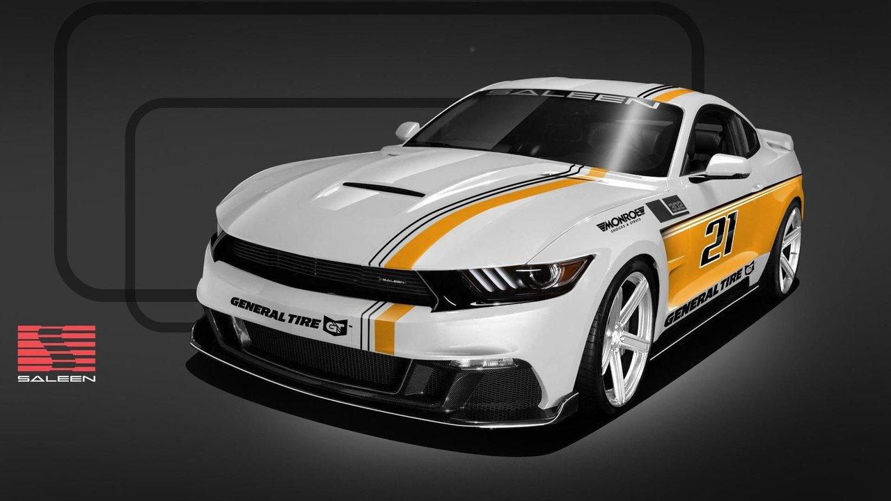 Saleen представила юбилейный Mustang 30-Year Championship Edition