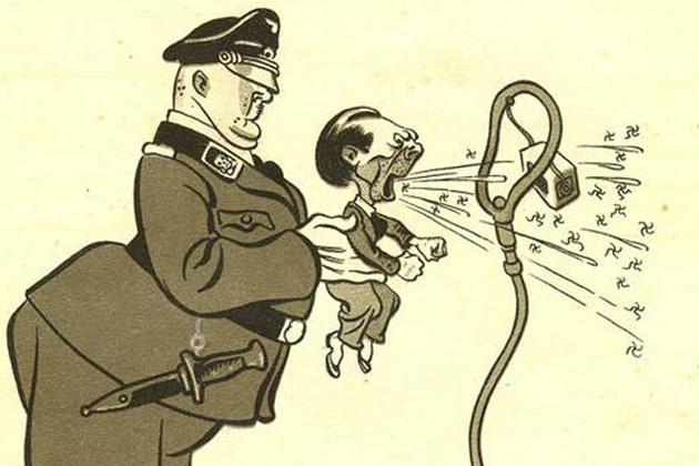 01-Геббельс. Советская карикатура