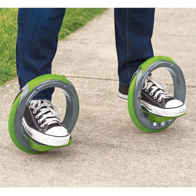 Skateboard Redesigned in Two Wheels