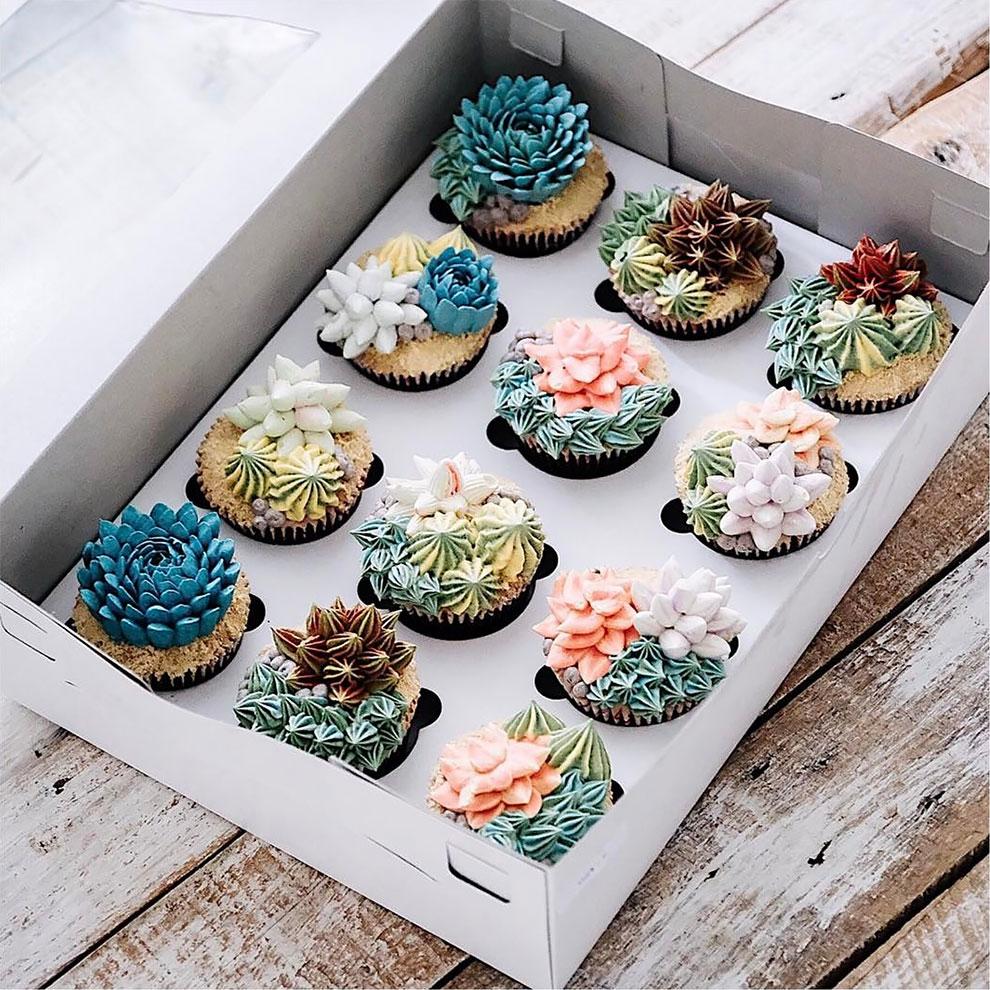 Delicious Flower and Terrarium Cakes