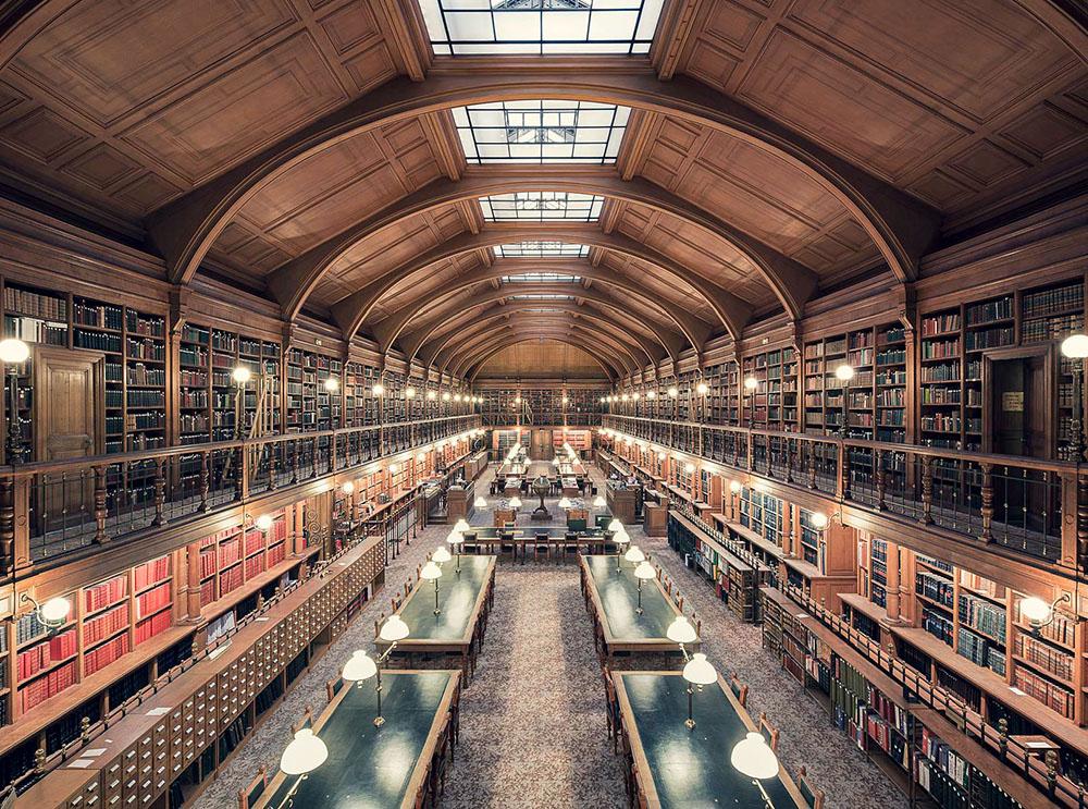 Bibliotheque de l'Hotel de Ville de Paris, Paris, 1890