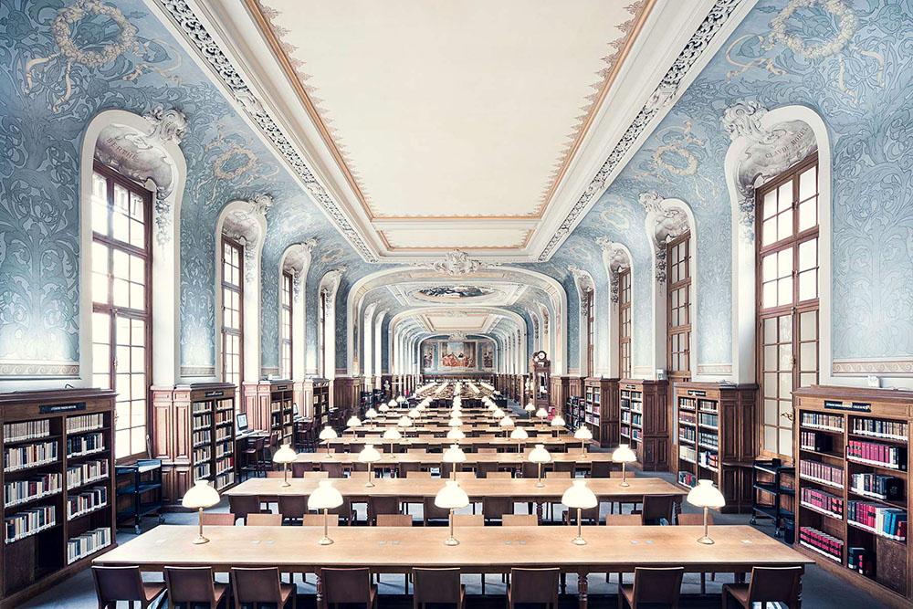 Bibliotheque de la Sorbonne, Salle Jacqueline de Romilly, Paris, 1897