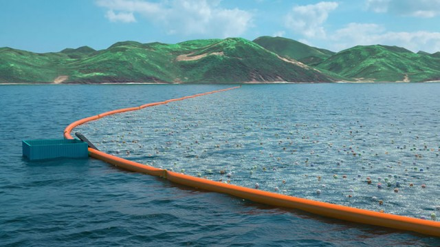 Ingenious Ocean Cleaning System