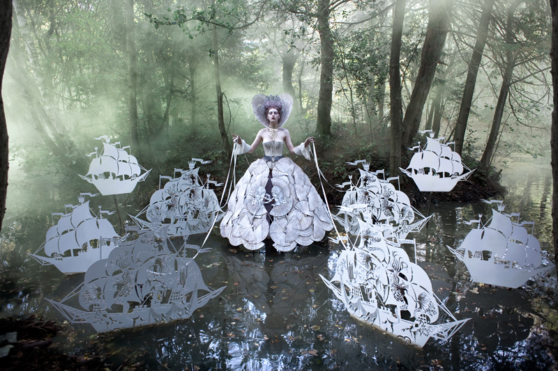 The Queen's Armada © Kirsty Mitchell