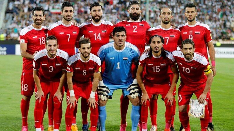 Иран - Сирия. 5 сентября 2017. Отборочный матч Чемпионата Мира 2018