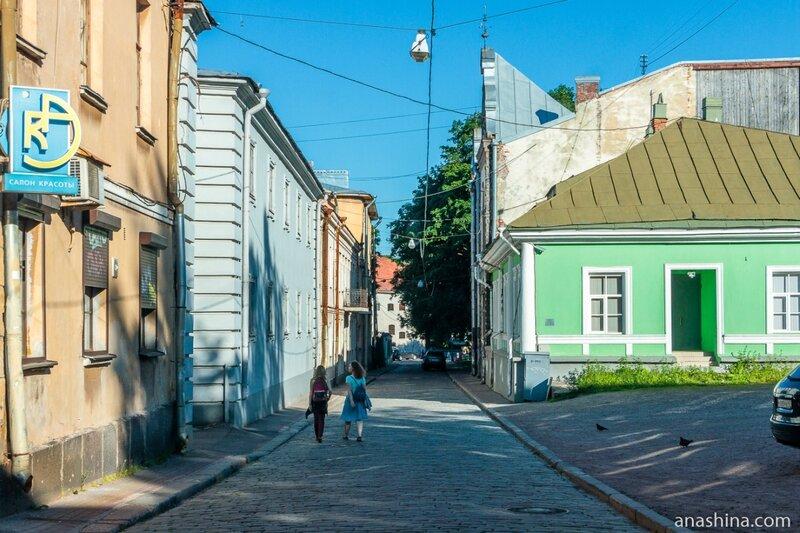 Прогонная улица, Выборг