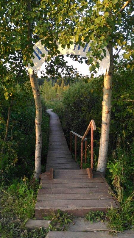 Дорога к озеру, Пчелинское озеро