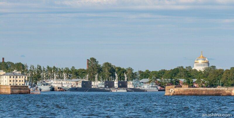 Кронштадт, Морской Никольский собор, Балтийский флот ВМФ России