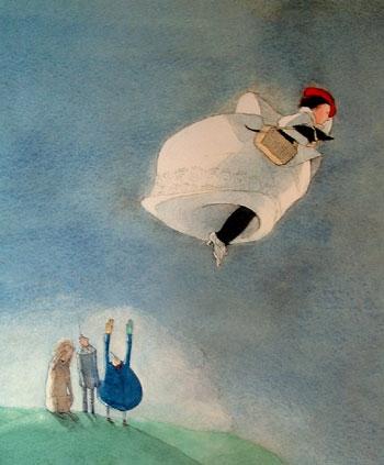O mundo imaginario das ilustracoes de Lisbeth Zweger (12 pics)