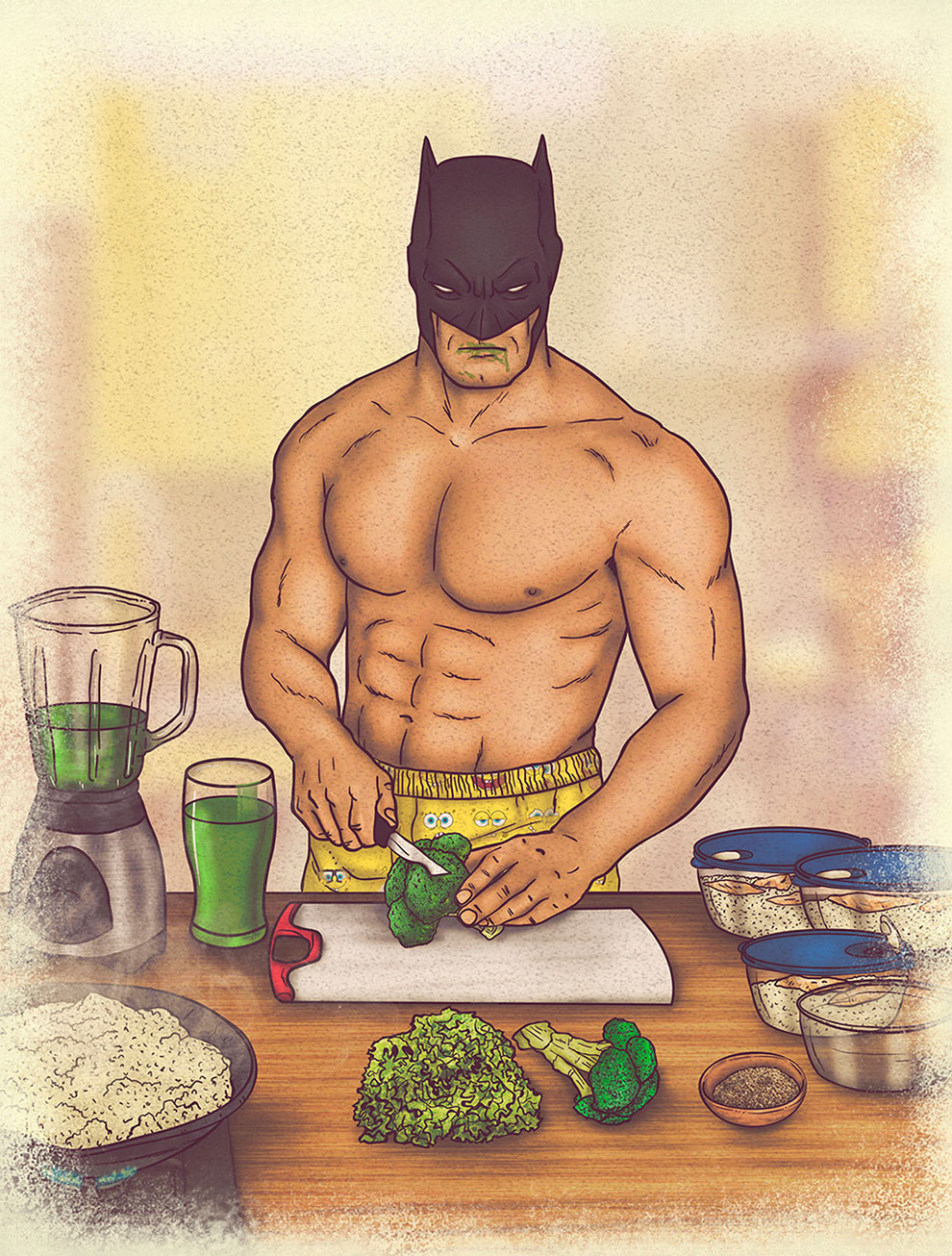 The Everyday Lives of Superheroes: The Juice-tice League Project (13 pics)